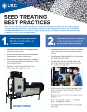 seed treating best practices preventative maintenance
